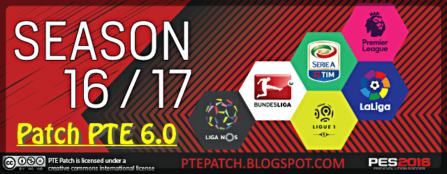 (PES 2016) Patch PTE 6.0 : Download + Install